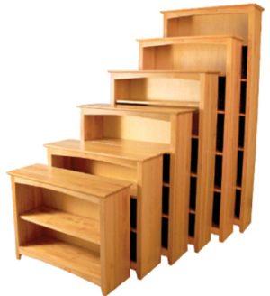 Alder Shaker Bookcase