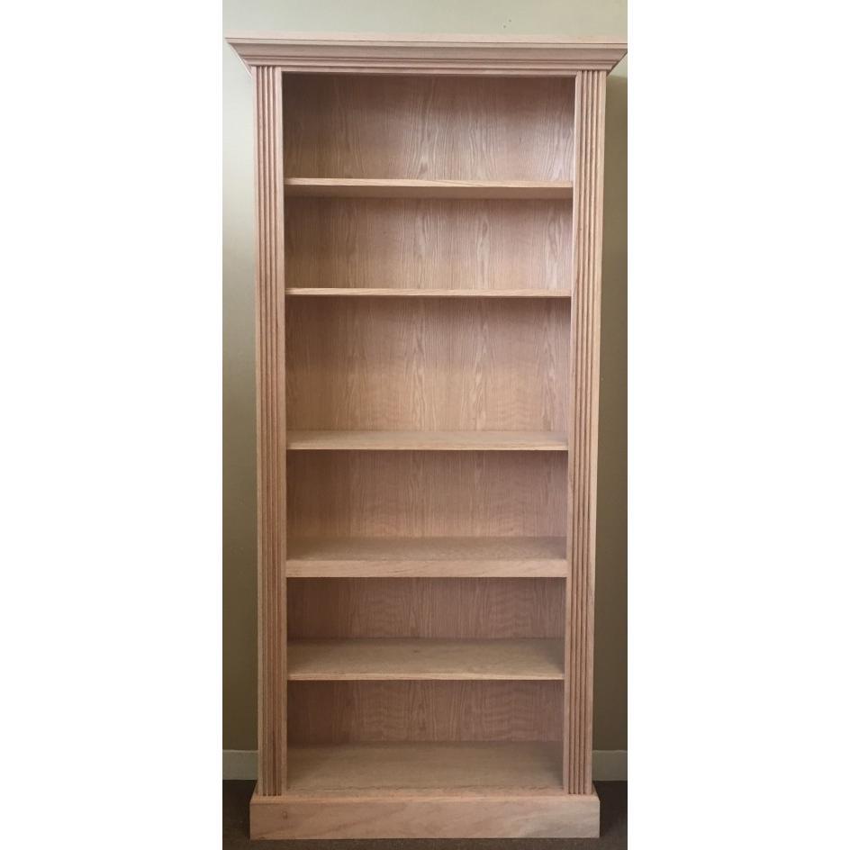 bookcase x pine tall h cm bearbeitet solid massiv img w bookcases t finish b abmessung regal eichefarben kiefer oak wood vollholz